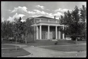 Primary view of object titled 'Sigma Alfa Eplilon Fraternity House  at the University of Oklahoma in Norman, Oklahoma.'.