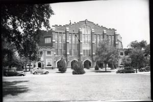Primary view of object titled 'Field House at the University of Oklahoma in Norman, Oklahoma'.