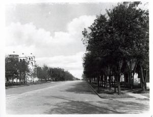 Primary view of object titled 'Rock Island Street in El Reno, Oklahoma'.