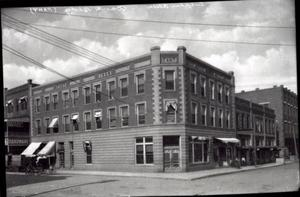 Primary view of object titled 'Fant Building in Sulphur, Oklahoma'.