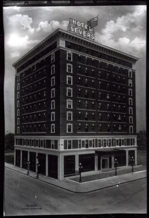 Primary view of object titled 'Hotel Severs in Muskogee, Oklahoma'.