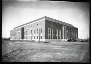 Primary view of object titled 'Gallagher Hall  at Oklahoma State University in Stillwater, Oklahoma.'.