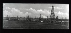 Primary view of object titled 'Oilfield near Healdton, Oklahoma'.