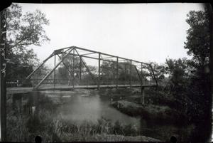 Primary view of object titled 'Washita River Bridge near Pauls Valley, Oklahoma'.