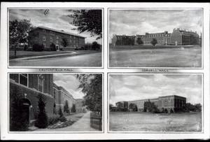 Primary view of object titled 'Buildings at Oklahoma State University in Stillwater, Oklahoma.'.