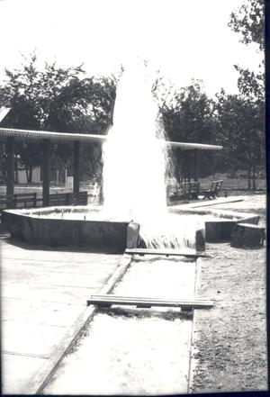 Primary view of object titled 'Vendome Artesian Well in Sulphur, Oklahoma'.