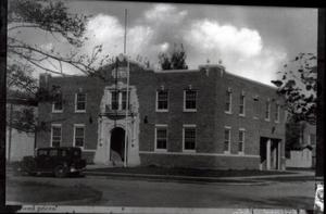 Primary view of object titled 'Old Building in Edmond, Oklahoma'.