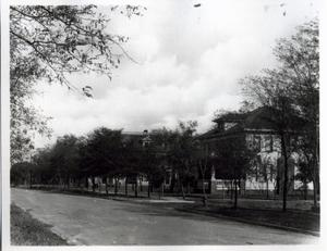 Primary view of object titled 'Residential street in El Reno, Oklahoma'.