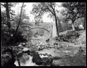 Primary view of object titled 'Creek at the Chickasaw National Park Recreation Area near Sulphur, Oklahoma'.
