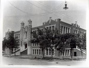 Primary view of object titled 'El Reno High School in El Reno, Oklahoma'.