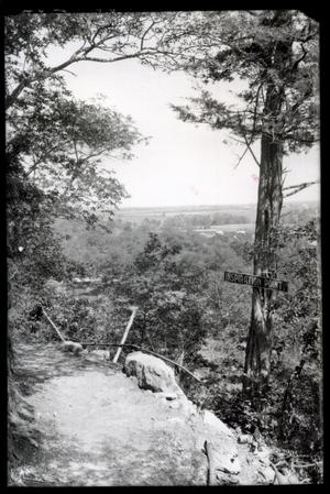 Primary view of object titled 'Inspriation Point at the Chickasaw National Park Recreation Area near Sulphur, Oklahoma'.