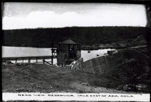 Primary view of object titled 'Reservoir near Ada, Oklahoma'.