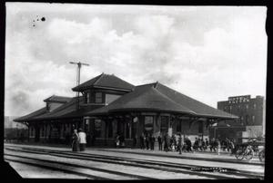 Primary view of object titled 'Frisco Railroad Station'.