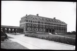 Primary view of object titled 'North Hall Women's Dormitory at Oklahoma State University in Stillwater, Oklahoma.'.