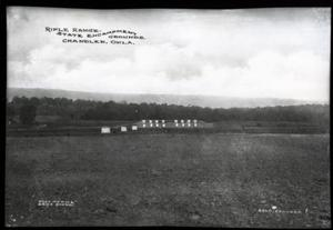 Primary view of object titled 'Oklahoma National Guard Rifle Range in Chandler, Oklahoma'.