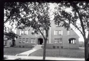 Primary view of object titled 'Kappa Sigma Fraternity House  at the University of Oklahoma in Norman, Oklahoma.'.