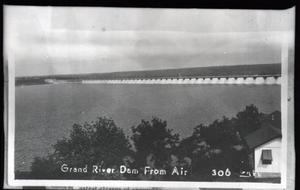 Primary view of object titled 'Grand River Dam in Oklahoma, 306 Grey'.