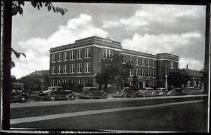 Primary view of object titled 'Home Economics Building  at Oklahoma State University in Stillwater, Oklahoma'.