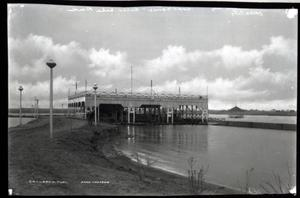 Primary view of object titled 'Belle Isle Boathouse in Oklahoma City, Oklahoma'.