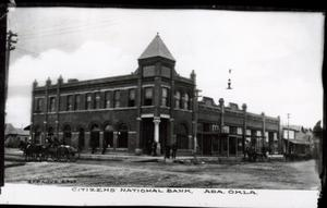 Primary view of object titled 'Citizen's National Bank in Ada'.