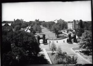 Primary view of object titled 'North Oval of the University of Oklahoma in Norman, Oklahoma'.