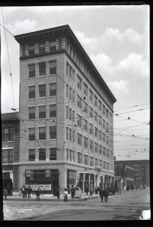 Primary view of object titled 'Majestic Building in Oklahoma City'.