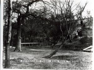 Primary view of object titled 'Government Park in Enid, Oklahoma'.