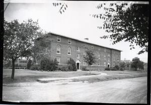 Primary view of object titled 'Crutchfield Hall at Oklahoma State University in Stillwater, Oklahoma'.