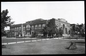 Primary view of object titled 'Library at Oklahoma State University in Stillwater, Oklahoma.'.