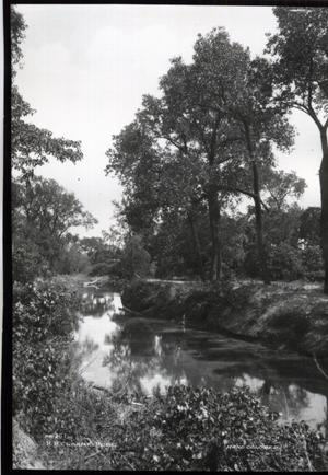 Primary view of object titled 'Canadian River in Wheeler Park in Oklahoma City'.