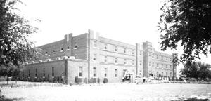 Primary view of object titled 'Sanford Hall at Langston University in Langston, Oklahoma'.