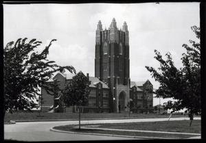 Primary view of object titled 'Administration Building at Oklahoma City University in Oklahoma City, Oklahoma'.