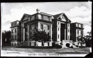 Primary view of object titled 'Logan County Courthouse in Guthrie, Oklahoma'.