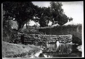Primary view of object titled 'Belle Cow Creek Dam in Chandler, Oklahoma'.