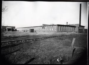Primary view of object titled 'Pioneer Cotton Mill in Guthrie, Oklahoma'.