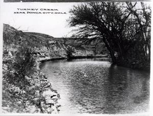 Primary view of object titled 'Turkey Creek near Ponca City, Oklahoma'.