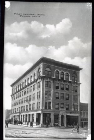 Primary view of object titled 'First National Bank in Tulsa'.