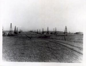Primary view of object titled 'The Glenn Pool Field, Tulsa, Oklahoma'.
