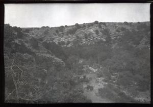 Primary view of object titled 'Landscape at Turner Falls near Davis, Oklahoma'.