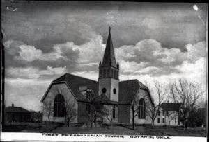 Primary view of object titled 'First Presbyterian Church in Guthrie, Oklahoma'.
