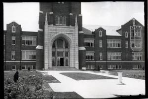 Primary view of Administration Building at Oklahoma City University in Oklahoma City, Oklahoma