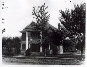 Primary view of object titled 'John R. Connor Residence in Pauls Valley, Oklahoma'.