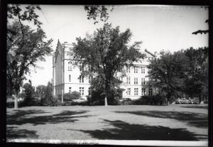 Primary view of object titled 'Debarr Hall at the University of Oklahoma in Norman, Oklahoma'.