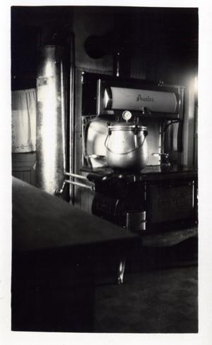 Primary view of object titled 'Canning with a Pressure Cooker in a Kitchen'.
