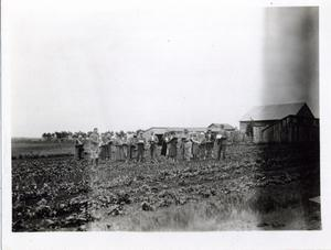 Primary view of object titled 'Garden in Comanche County'.