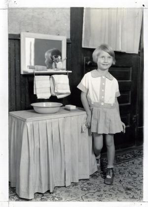 Primary view of object titled 'Verna Lee Looyengold at Age Five'.