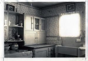 Primary view of object titled 'View of Mrs. B. C. Wood's Kitchen'.