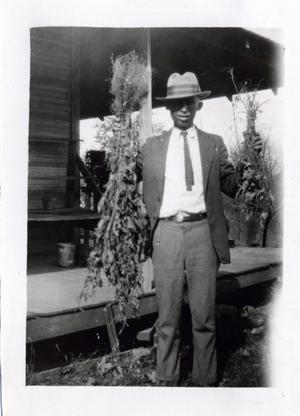 Primary view of object titled 'African-American Agent, Mr. Floyd'.