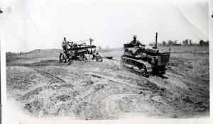 Primary view of object titled 'Building Terraces With Road Machinery'.