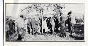 Primary view of object titled 'African-American Men at Hog Kill'.